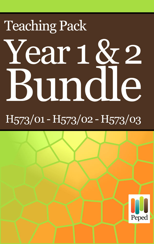 H573 OCR Teaching Pack Whole Course Year 1 & Year 2