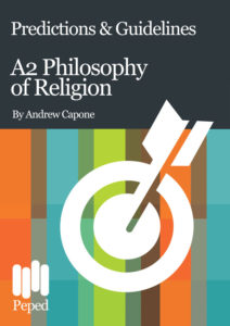 A2 Philosophy of Religion Predictions