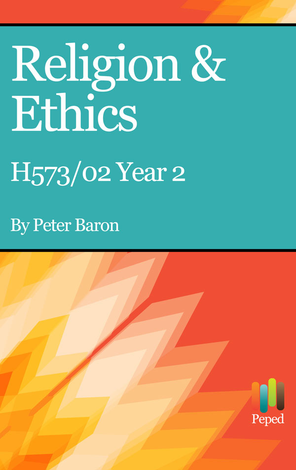 H573 02 Religion & Ethics New Spec Year 2