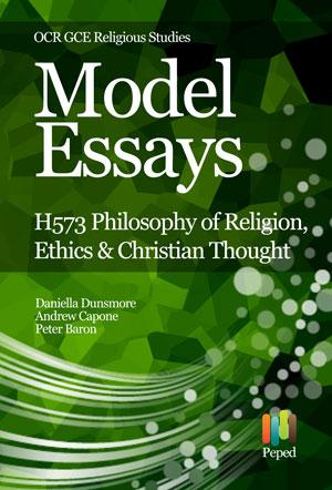 Model Essays for OCR GCE Religious Studies