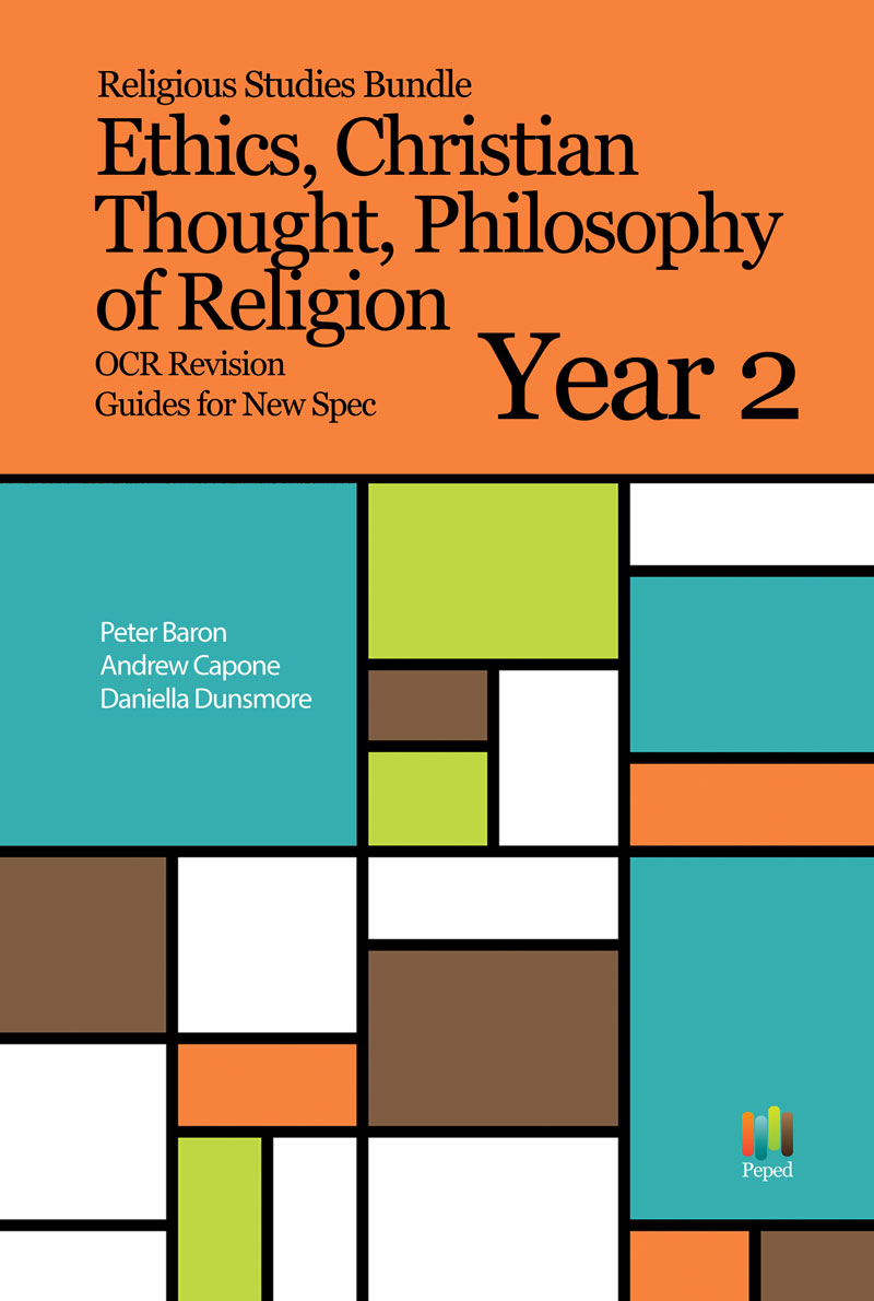 Religious Studies Bundle Philosophy of Religion, Ethics, Religious Thought OCR Revision Guides New Spec Year 2