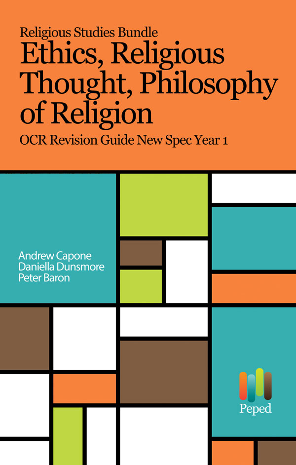 religious studies bundle philosophy  religion ethics religious thought ocr revision