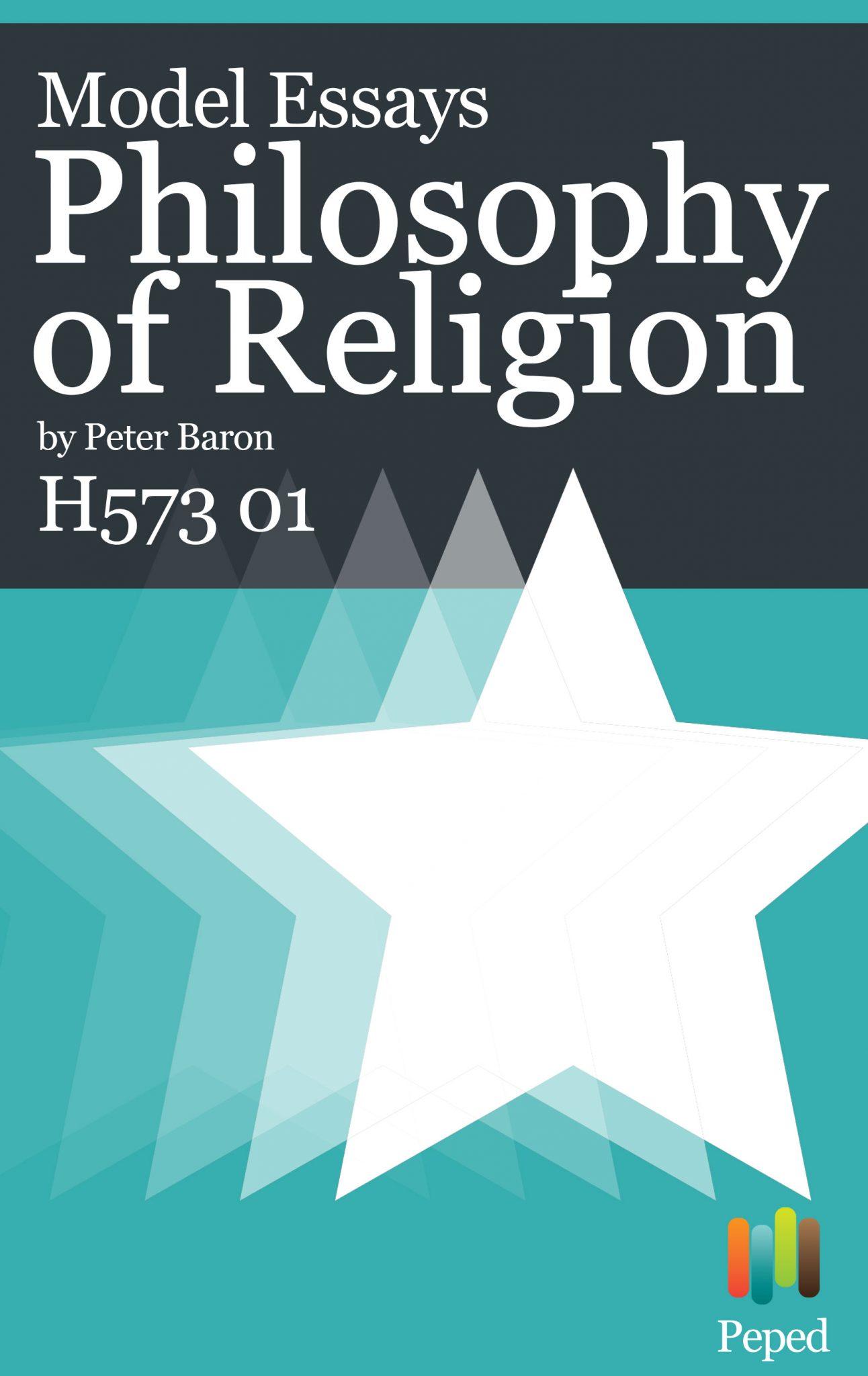 philosophy of religion pdf